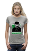 "Футболка Wearcraft Premium (Женская) ""I am the Danger (Breaking Bad)"" - во все тяжкие, breaking bad, i am the danger"