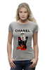"Футболка Wearcraft Premium (Женская) ""Chanel"" - прикол, юмор, духи, бренд, fashion, коко шанель, brand, coco chanel, шанель, perfume"