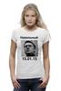 """Футболка Wearcraft Premium (Женская) """"Навальный"""" - навальный, политика, navalny, манежка"""