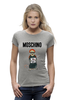 "Футболка Wearcraft Premium ""Moschino"" - прикол, юмор, бренд, fashion, brand, branding"