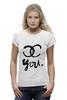 "Футболка Wearcraft Premium ""For YOU"" - мода, девушке, бренд, fashion"