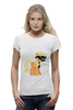 "Футболка Wearcraft Premium (Женская) ""My Little Pony - AppleJack (ЭпплДжек)"" - pony, mlp, my little pony, пони, усы"
