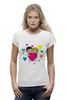 "Футболка Wearcraft Premium ""love is..."" - heart, i love, love is"
