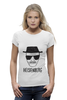 "Футболка Wearcraft Premium ""Heisenberg (Breaking Bad)"" - арт, во все тяжкие, walter white, уолтер уайт, heisenberg"
