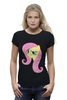 "Футболка Wearcraft Premium ""Fluttershy Appoved"" - арт, pony, mlp, пони, fluttershy"
