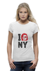 "Футболка Wearcraft Premium ""Escape from New York / Побег из Нью Йорка"" - new york, ny, нью йорк, курт рассел, побег из нью йорка"