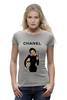 "Футболка Wearcraft Premium (Женская) ""Chanel"" - юмор, духи, бренд, fashion, коко шанель, brand, coco chanel, шанель, perfume, karl lagerfeld"