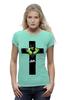 """Футболка Wearcraft Premium (Женская) """"Арт Халк"""" - арт, крест, комиксы, hulk, халк"""