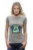 "Футболка Wearcraft Premium (Женская) ""BMO - The Adventure Time"" - adventure time, время приключений, bmo, бимо, финном и джейком"