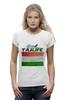 "Футболка Wearcraft Premium ""Флаг Таджикистана"" - флаг, таджикистана"