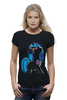 "Футболка Wearcraft Premium (Женская) ""My Little Pony: DJ Pon-3 (Vinyl Scratch)"" - dj, pony, mlp, пони, brony"