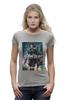 """Футболка Wearcraft Premium (Женская) """"Мстители / Avengers"""" - иероглифы, avengers, черная вдова, kinoart, скарлет йохансон"""