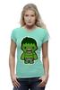"Футболка Wearcraft Premium ""Халк (Hulk)"" - супергерой, hulk, мстители, avengers, халк"