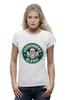 "Футболка Wearcraft Premium (Женская) ""Heisenberg Coffee (Breaking Bad)"" - кофе, во все тяжкие, старбакс, heisenberg coffee"