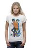 "Футболка Wearcraft Premium (Женская) ""Nyan Cat & Tac Nayn T-shirt"" - cat, nyan, nyancat, tacnayn"