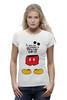 """Футболка Wearcraft Premium """"Микки Маус (Mickey Mouse)"""" - микки маус, mickey mouse"""