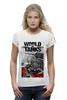 "Футболка Wearcraft Premium ""World of Tanks"" - игры, world of tanks, танки, wot"