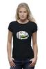 "Футболка Wearcraft Premium ""Комар"" - зеленый, комар, спит, комната, боится"