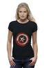 "Футболка Wearcraft Premium ""Captain America"" - комиксы, супергерой, marvel, капитан америка, captain america"