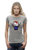 "Футболка Wearcraft Premium ""Hello Chucky"" - hello kitty, убийца, killer, чаки, chucky"