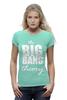 "Футболка Wearcraft Premium ""The Big Bang Theory"" - the big bang theory, bazinga, сериал, теория большого взрыва, шелдон купер, sheldon cooper"
