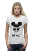 "Футболка Wearcraft Premium ""Heisenberg x Mickey Mouse"" - микки маус, во все тяжкие, breaking bad, хайзенберг, гайзенберг"