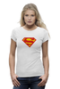 "Футболка Wearcraft Premium (Женская) ""Супермен"" - comics, супермен, superman"