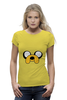 "Футболка Wearcraft Premium "" Jake-Dog"" - adventure time, время приключений, jake, jake the dog"