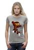 "Футболка Wearcraft Premium (Женская) ""Бомбермэн (Bomberman)"" - железный человек, iron man"
