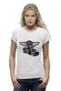 "Футболка Wearcraft Premium (Женская) ""Harley Davidson Motors"" - мотоцикл, байк, harley davidson, чоппер, харлей дэвидсон"