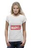 "Футболка Wearcraft Premium (Женская) ""Marvel"" - комиксы, классная, крутая, marvel, spider man, марвел, железный человек, iron man, капитан америка, локи"