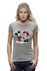 "Футболка Wearcraft Premium ""Мики Маус"" - дисней, мики маус, mickey mouse, vintage, minnie mouse"