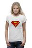 """Футболка Wearcraft Premium (Женская) """"superman"""" - супермен, superman, dc"""