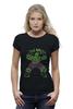 """Футболка Wearcraft Premium (Женская) """"Халк (Hulk)"""" - hulk, мстители, avengers, халк"""
