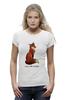 """Футболка Wearcraft Premium """"Лисичка"""" - fox, лиса, лисичка, i am a fox"""