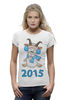 """Футболка Wearcraft Premium """"Новый Год 2015 (Овцы, Козы)"""" - новый год, баран, new year, овца, нг, sheep, 2015, коза, козел, goat"""