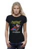 "Футболка Wearcraft Premium (Женская) ""Супермен"" - супермен, комиксы, superman, супергерои"
