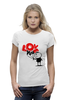 "Футболка Wearcraft Premium ""I love you"" - i love, love is"