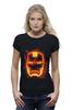 "Футболка Wearcraft Premium ""Железный человек"" - комиксы, супергерой, marvel, марвел, железный человек, iron man"