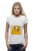 "Футболка Wearcraft Premium ""Adventure Time: Jake Dog"" - adventure time, время приключений, jake"
