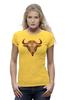 """Футболка Wearcraft Premium (Женская) """"Телец"""" - гороскоп, телец, знак зодиака, taurus, бык"""