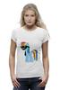 """Футболка Wearcraft Premium (Женская) """"My Little Pony - Rainbow Dash (Радуга)"""" - радуга, pony, rainbow dash, mlp, пони"""