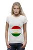 "Футболка Wearcraft Premium ""Флаг Таджикистана"" - таджикистан, флаг"