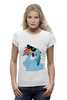 "Футболка Wearcraft Premium (Женская) ""Rainbow Dash"" - радуга, очки, дружба, pony, rainbow dash, mlp, my little pony, пони, dash, fim"