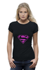 "Футболка Wearcraft Premium (Женская) ""SuperMan EMO sweatshirt"" - superman, pink, эмо, e-one, emotion"