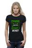"""Футболка Wearcraft Premium (Женская) """"Спортивное питание"""" - фитнес, hulk, халк, кросфит, майка для спорта"""