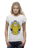"Футболка Wearcraft Premium (Женская) ""Baymax x Breaking Bad"" - пародия, во все тяжкие, breaking bad, город героев, baymax"