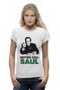 "Футболка Wearcraft Premium ""Better call Saul"" - во все тяжкие, breaking bad, better call saul, лучше звоните солу, сол гудман"