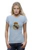 """Футболка Wearcraft Premium (Женская) """"""""Реал Мадрид"""""""" - футбол, цветная, real madrid, реал мадрид, football club, футбольный клуб"""