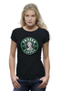 "Футболка Wearcraft Premium ""Frozen coffee"" - кофе, coffee, starbucks, frozen, холодное сердце"